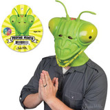 Realistic praying mantis head Giant shiny eyes You supply the praying arms Probably our best mask for silent lurking