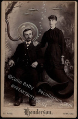 Colin has contributed to Freakybuttrue and the Peculiarium for many years and graces this site with his amazing work.
