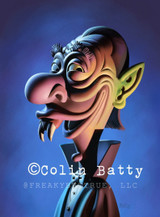 Colin Batty has contributed to Freakybuttrue and the Peculiarium for many years and graces this site with his amazing work.