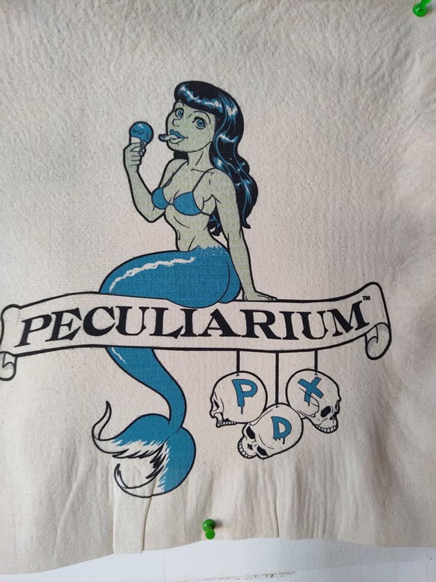 Mermaid with Ice Cream Cone Tote Bag