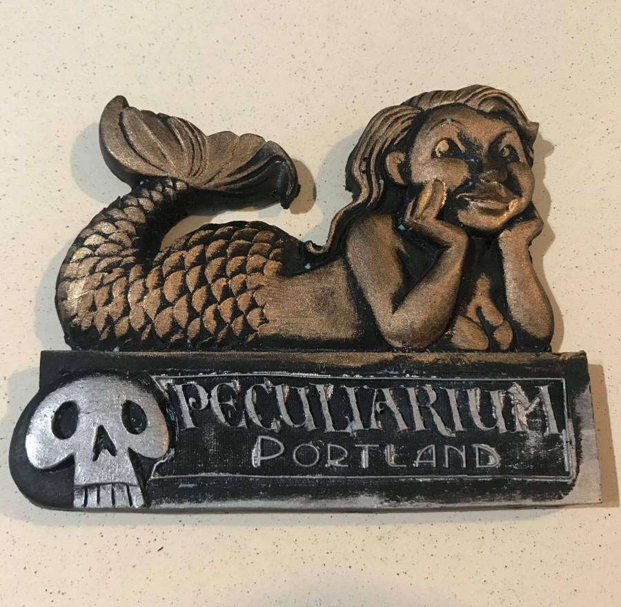 Mermaid Fridge Magnet Large