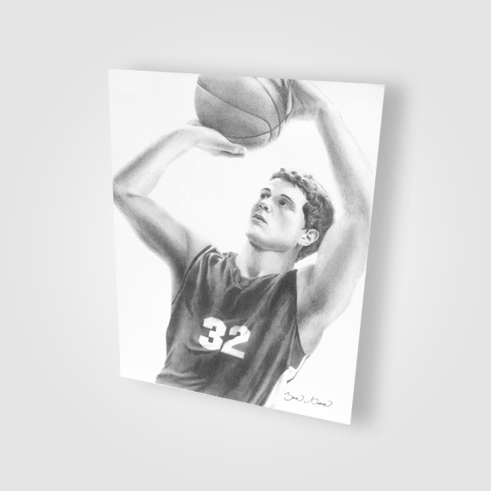 Hand-Drawn Jimmer Poster Print - Signed