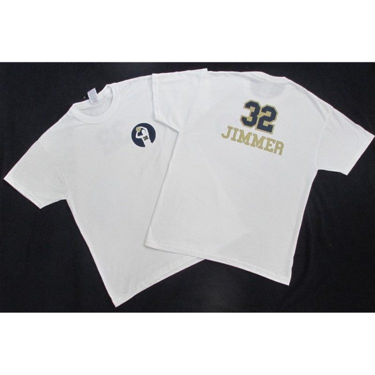White #32 Jimmer shirt