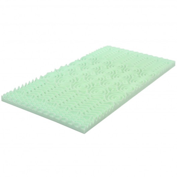 3 Inch Comfortable Mattress Topper Cooling Air Foam-King Size