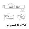 Loopfold side tab