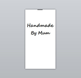 Handmade By Mum Clothing Labels by Ted + Toot Labels