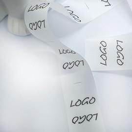 Microfibre custom printed labels