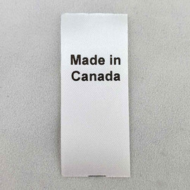 Made in Canada Country of Origin Label