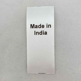 Made in India Country of Origin Label