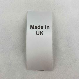 Made in UK Country of Origin Label
