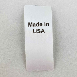 Made in USA Country of Origin Label