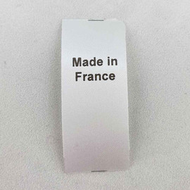 Made in France Country of Origin Label