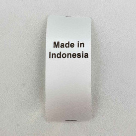 Made in Indonesia Country of Origin Label