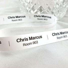 Iron-on nursing home labels