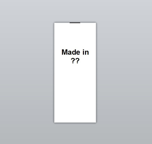 Made in ?? Clothing Labels by Ted + Toot Labels