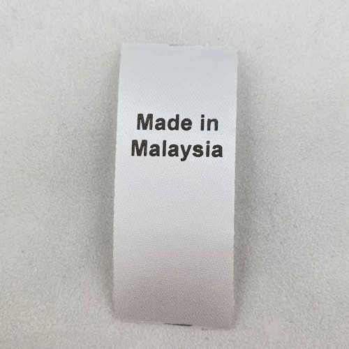 Made in Malaysia Country of Origin Label