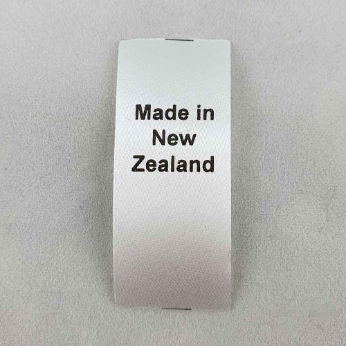 Made in New Zealand Country of Origin Label