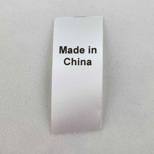 Made in China Country of Origin Label