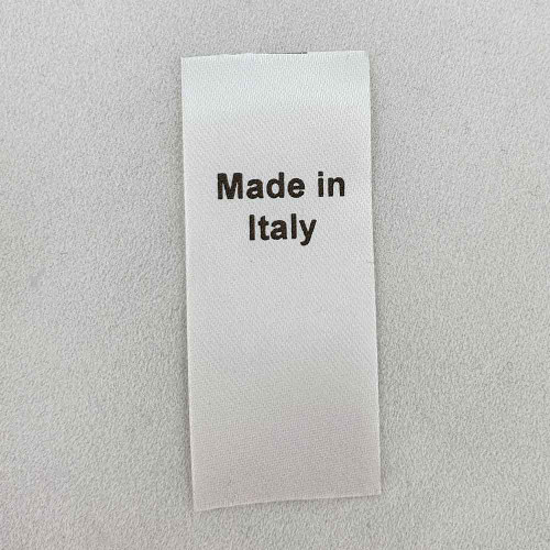 Made in Italy Country of Origin Label