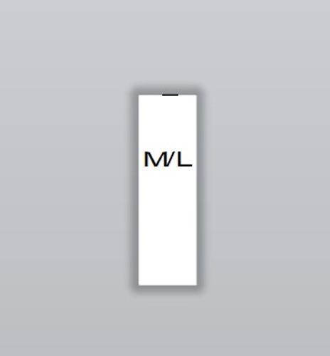 medium large size labels