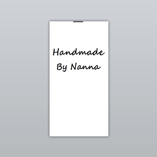 Handmade By Nanna Clothing Labels by Ted + Toot Labels