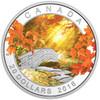2016 $20 FINE SILVER COIN AUTUMN TRANQUILLITY