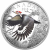 2016 $20 FINE SILVER COIN THE MIGRATORY BIRDS CONVENTION: 100 YEARS OF PROTECTION THE PILEATED WOODPECKER
