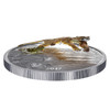 2017 $20 FINE SILVER COIN - THREE-DIMENSIONAL LEAPING COUGAR