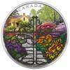 2017 $30 FINE SILVER COIN GATE TO ENCHANTED GARDEN