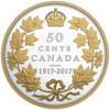 2017 50-CENT FINE SILVER COIN 100TH ANNIVERSARY OF THE 1917 HALF-DOLLAR
