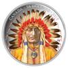 2016 $50 FINE SILVER COIN WANDUTA: PORTRAIT OF A CHIEF