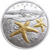 2017 $20 FINE SILVER COIN FROM SEA TO SEA TO SEA: ATLANTIC STARFISH