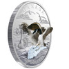 2018 $20 FINE SILVER COIN – THREE-DIMENSIONAL APPROACHING CANADA GOOSE