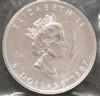 1oz. 1997 CANADIAN SILVER MAPLE LEAF COIN
