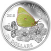 SALE - 2015 $20 FINE SILVER COIN BUTTERFLIES OF CANADA - GIANT SULPHUR