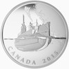 SALE - 2015 $20 FINE SILVER COIN - THE CANADIAN HOME FRONT - CANADA'S FIRST SUBMARINES DURING THE FIRST WORLD WAR