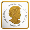 2018 $3 FINE SILVER COIN -CANADIAN COASTS ATLANTIC COVES