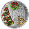 2019 $20 FINE SILVER COIN HOLIDAY WREATH