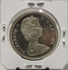 1965 CIRCULATION SILVER DOLLAR  - LARGE BEADS - BLUNT 5 - BC COLONY CENTENNIAL - UNGRADED - AS PICTURED