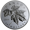 2019 $10 FINE SILVER COIN MAPLE LEAVES