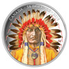 SALE - 2016 $50 FINE SILVER COIN WANDUTA: PORTRAIT OF A CHIEF