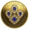 2019 $250 PURE GOLD COIN HER MAJESTY QUEEN ELIZABETH II'S SAPPHIRE TIARA