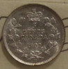 1902H CIRCULATION 5-CENT SILVER COIN - LARGE H - MS-63