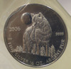 2006 1/2oz. SILVER COIN TIMBER WOLF