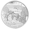 SALE - 2011 $20 FINE SILVER COIN - WINTER SCENE
