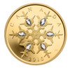 2010 $300 14KT GOLD COIN - CRYSTAL SNOWFLAKE