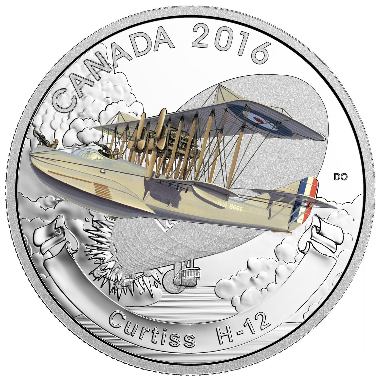 1 oz 99.99/% Fine Silver Coin Aircraft of First World War Royal Aircraft Factory