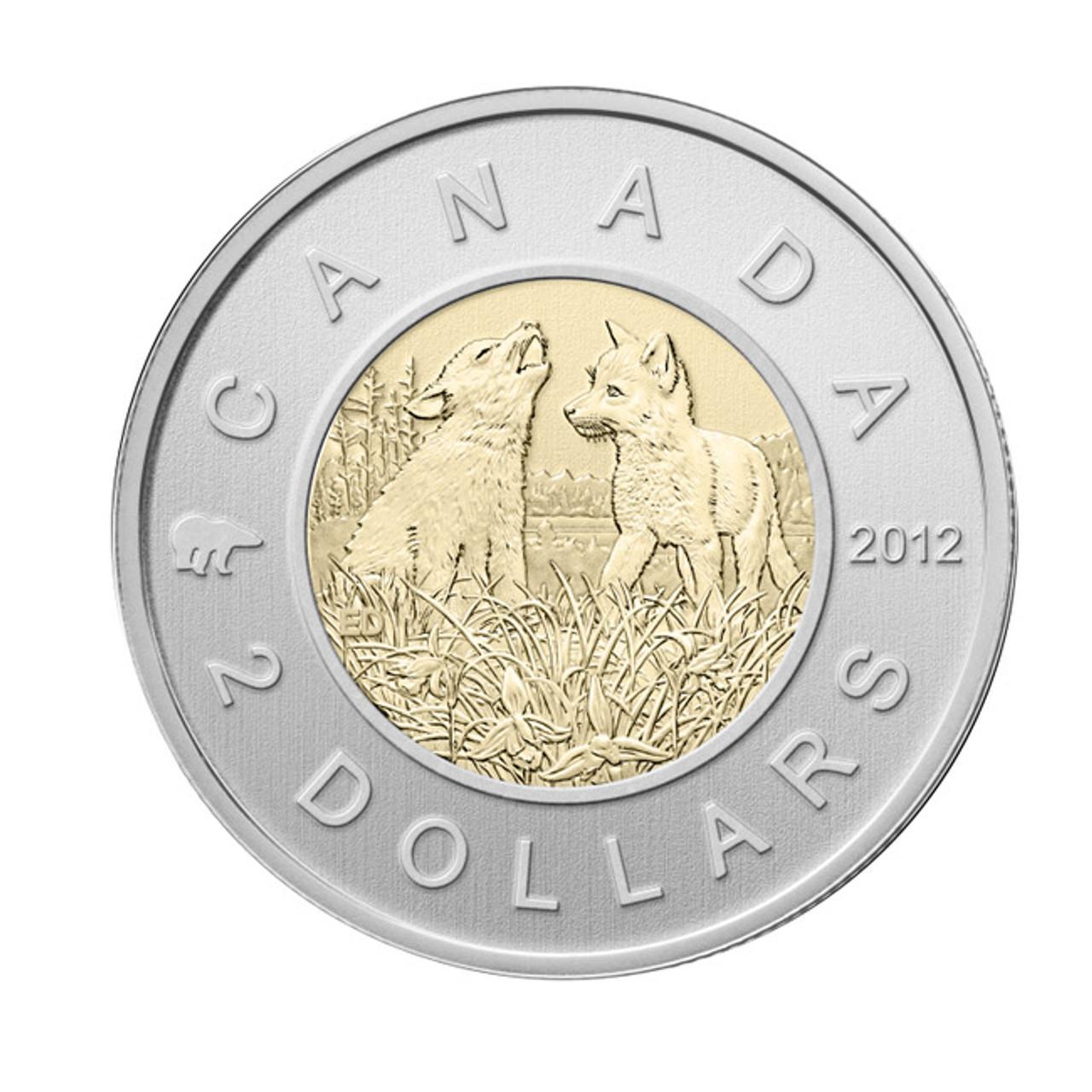 2007 Canada Toonie specimen finish coin from specimen set