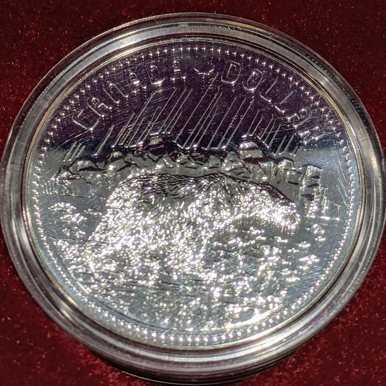 1980 CANADA 5 CENTS SPECIMEN NICKEL COIN