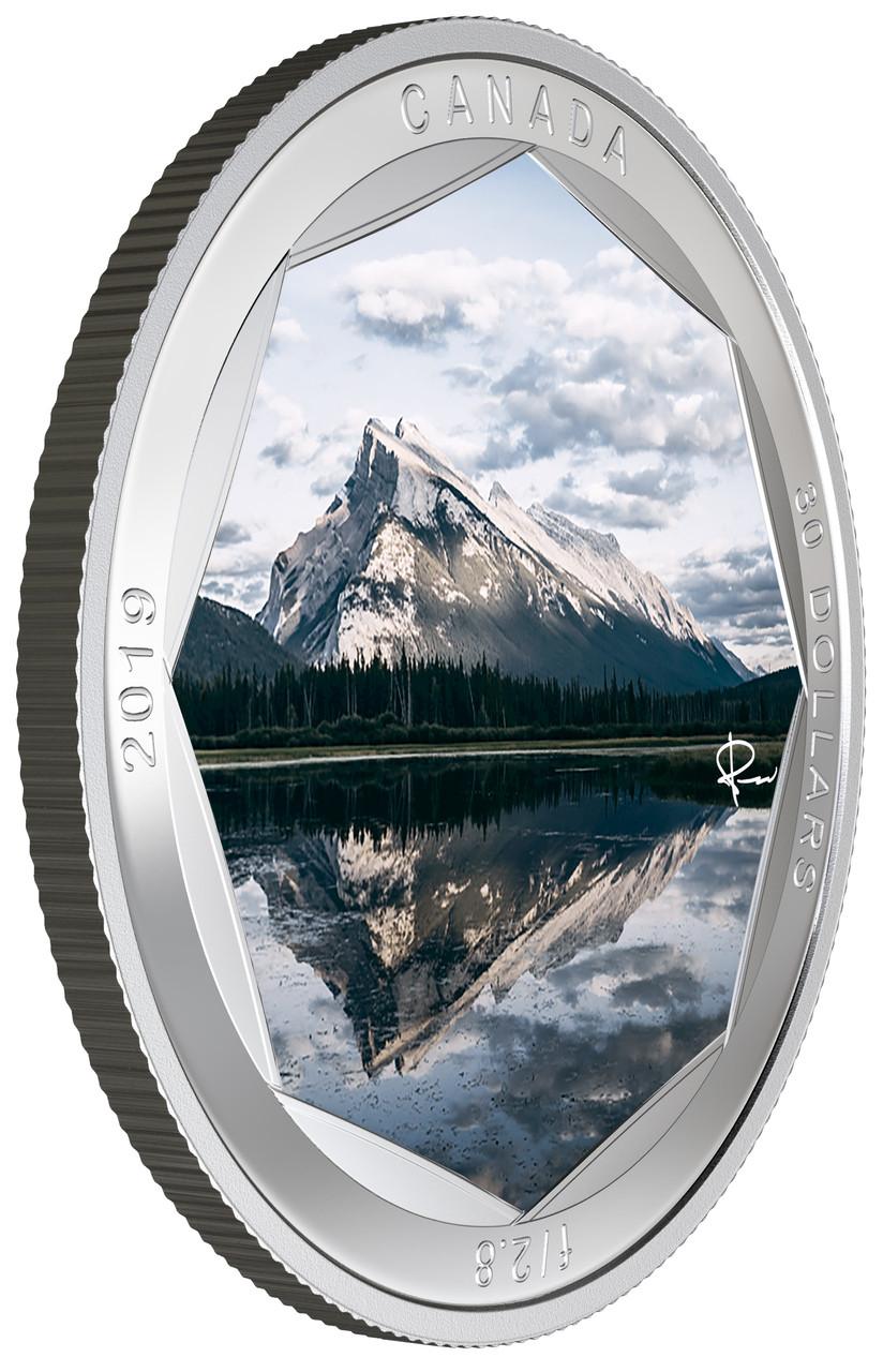 2019 30 Fine Silver Coin Peter Mckinnon Photo Series Mount Rundle